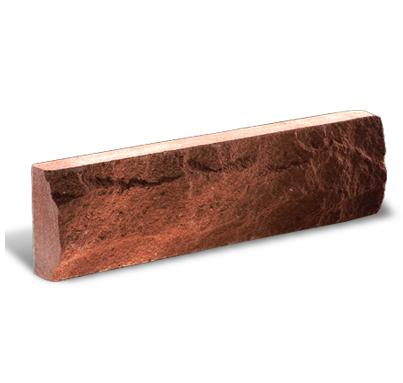 (Красная) Фасадная плитка скала