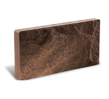 (Шоколад) Цокольная плитка
